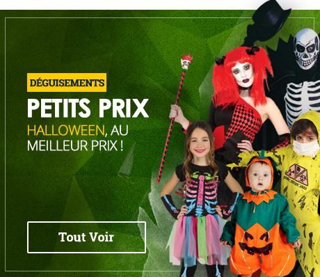 Déguisements Halloween pas chers