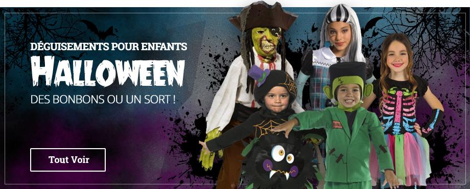 Déguisements Halloween pour Enfants
