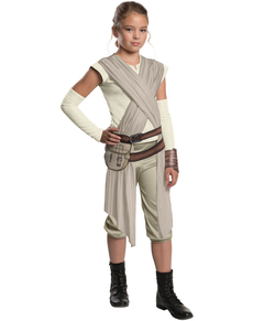 Costume Rey Star Wars Épisode 7 deluxe fille