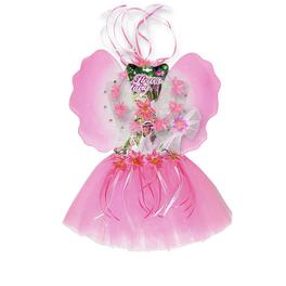 Kit costume fée des fleurs fille