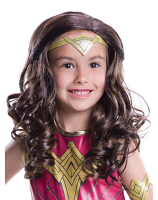 Perruque Wonder Woman : Batman vs Superman fille