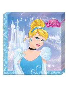 20 serviettes Cendrillon Fairytale