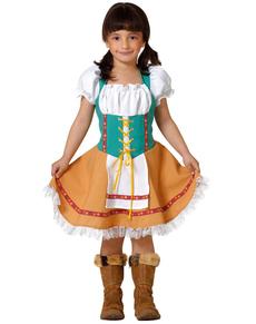 Costume de Bavaroise pour fille
